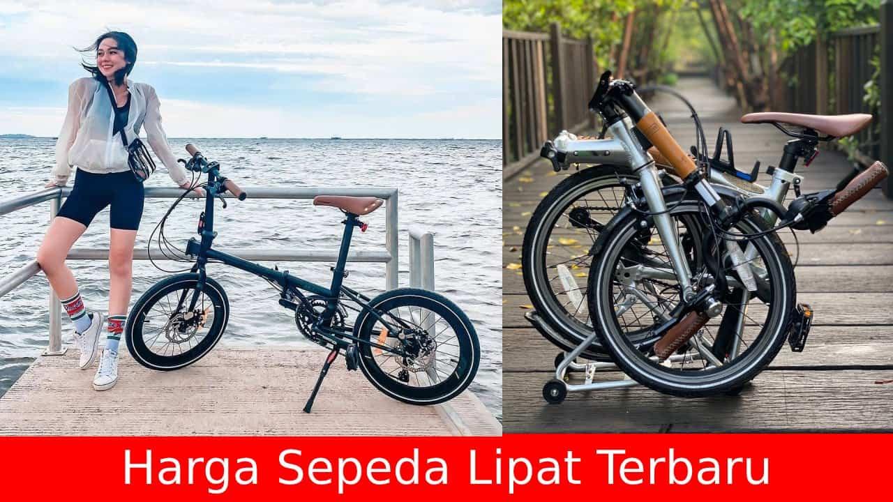 11 Daftar Harga Sepeda Lipat Terbaru di Tahun 2020