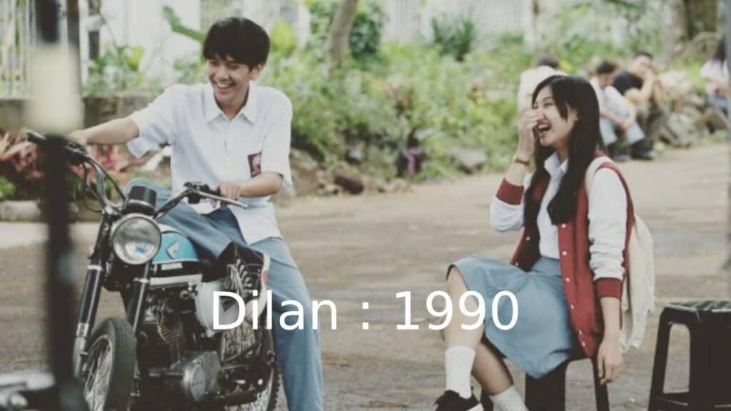 Film Dilan 1990 film indonesia romantis by imdb