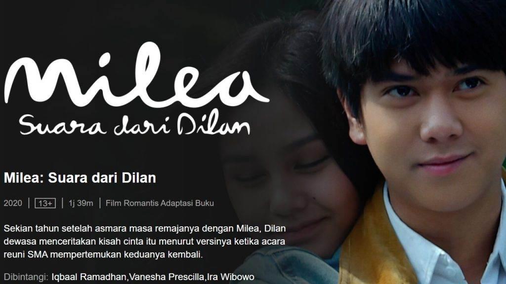 Film Milea: Suara Dari Dilan 2020