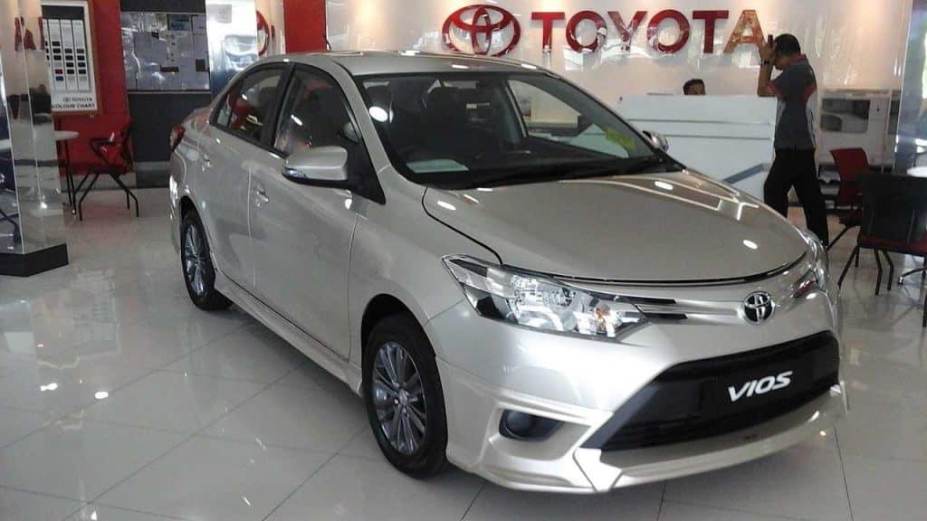 Toyota Vios XP150 1.5 E CVT Sedan 2018 by 7715Mateenz Wikimedia