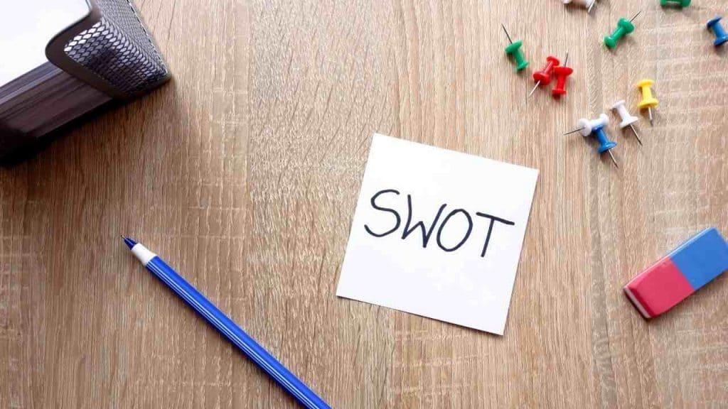 Cara Analisis Peluang Usaha dengan Teknik SWOT by Piotrekswat Canva