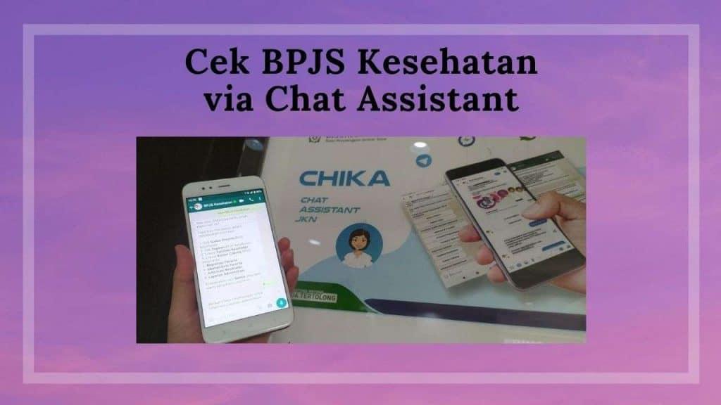 Cek BPJS Kesehatan Aktif Atau Tidak Via Chat Assistant