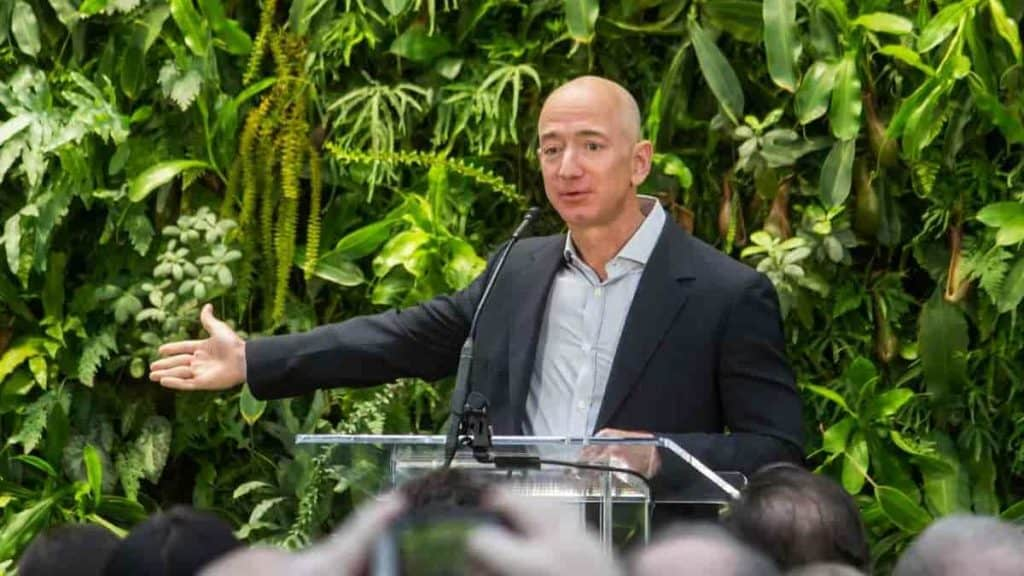 Jeff Bezos by Seattle City Council Flickr