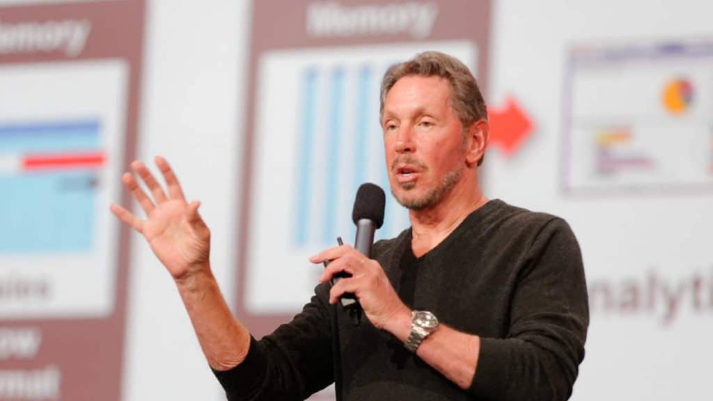 Larry Ellison by Oracle PR Flickr