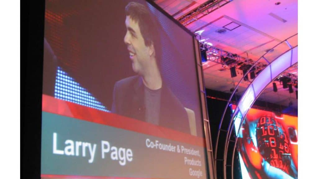 Larry Page by Steve Rhodes Flickr