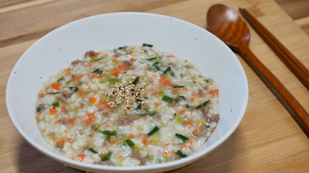 Resep Bubur Ayam Ala Korea by SUNGSU HAN Canva