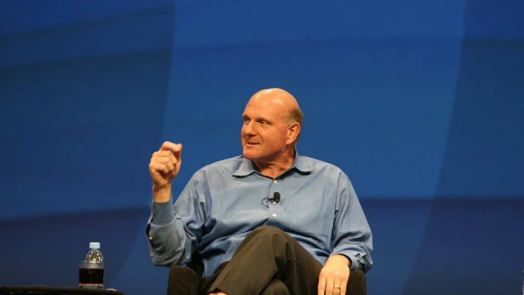 Steve Ballmer by Harald Weiss Flickr