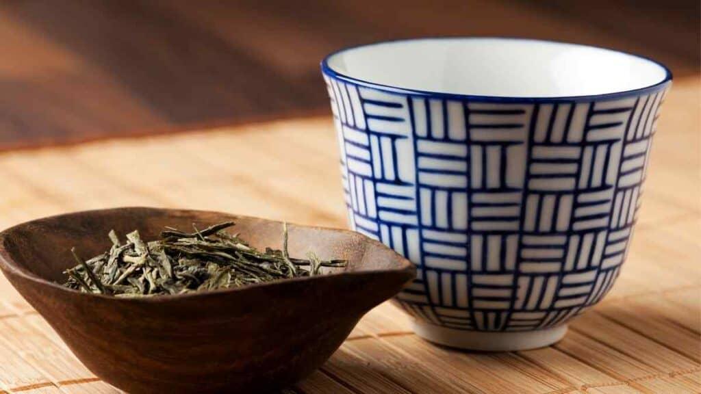 ampas teh hijau